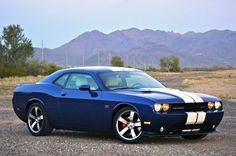 Dodge Challenger. Only if I knew how to drive, this would be my car but in black. DAMN IT......... :(