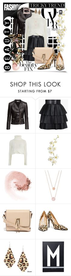 """inspired by you"" by summer-marin on Polyvore featuring H&M, Balmain, Cameo, Pier 1 Imports, BHCosmetics, NARS Cosmetics, Michael Kors, LYDC, Diane Von Furstenberg and Alexa Starr"