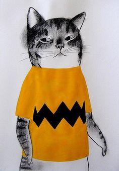 Cat City, Miyagi, 3 Arts, Art Graphique, Cool Cats, Art Boards, Sculpting, Batman, Collage
