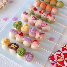 Fancy Desserts, Asian Desserts, Sweet Desserts, Sweet Recipes, Health Desserts, Food Decoration, Japanese Sweets, Cafe Food, Dessert Drinks
