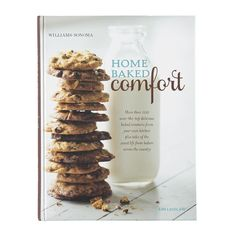 Williams-Sonoma Home Baked Comfort Cookbook, New Edition Sugared Cranberries, Flour Bakery, Bakery Cafe, Yellow Butter Cake, Fudge Frosting, Freshly Squeezed Orange Juice, Oatmeal Muffins, Cake Ingredients