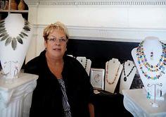 Jewelry designer Alice Bilello shows and demonstrates in New Bern Contributed photo Carol Jones, New Bern, Greater Good, Contemporary Artwork, Jewelry Designer, Arts And Entertainment, Alice, Entertaining, Gallery