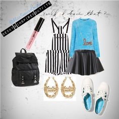 Becky G Inspired Outfit, created by misssincerekristin on Polyvore