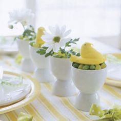 Great ideas for your Easter table!