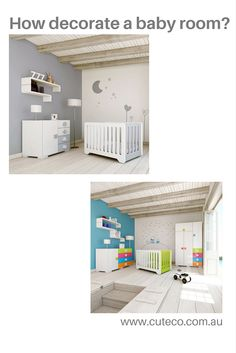 When you are expecting a baby, one of the things you want to do is preparing the baby room. So, you should think about the colours,wall decals, furniture & accessories, window nursery curtains, toys...and more. Have a look this blog    https://www.cuteco.com.au/blog/nursery-decoration-ideas/