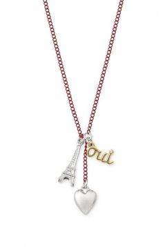 Achieve Parisian flair with this Paris inspired charm necklace for girls from Stella & Dot.