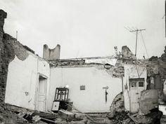 Ruinas de la ciudad. Calle Perú, centro histórico de México, D.F.