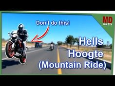 Triumph Street Triple RX - Ride through Hells Hoogte (Mountain Ride) - YouTube