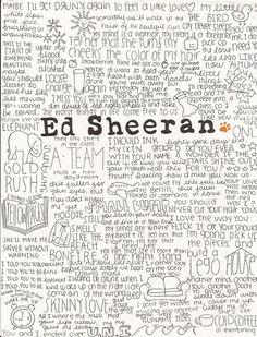 ed sheeran song quotes, love him Music Is Life, My Music, Amor Musical, Edward Christopher Sheeran, Ed Sheeran Lyrics, Love Him, My Love, Music Lyrics, Lyric Art