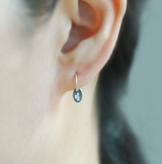 Sterling Silver Cartilage hoop earring with 925 by TakeOnMe7