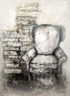 books  Art Print by Christine Lamade