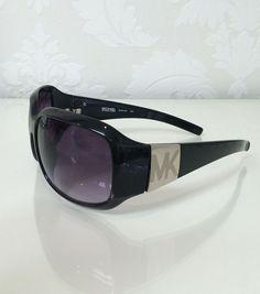 b54e8bde90 Michael Kors Ladies Sunglasses (Pre-owned Women s Black Frame Designer Sun  Glasses)
