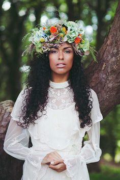 Boho Bride by Emily Jane Morgan, via Flickr