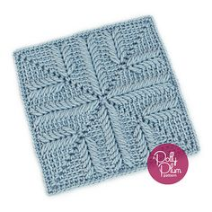 Free Crochet Pattern Afghan Square - Got Rhythm is square number 13 of the Stardust Melodies Crochet Along. This is an intermediate pattern that can be made to any size you like.