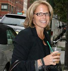 Katie Couric Prepares For New Talk Show With Weekly Online