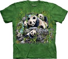 Футболка The Mountain - Find 13 Pandas - 2013 фото, цена, описание