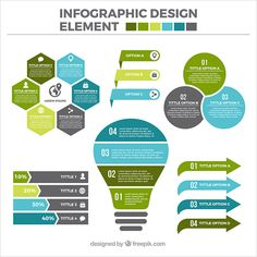 30 Templates & Vector Kits to Design Your Own Infographic Useful Infographic elements in Flat Design What Is An Infographic, Infographic Resume, Creative Infographic, Web Design, Design Blog, Vector Design, Design Trends, Flat Design Inspiration, Free Infographic Templates