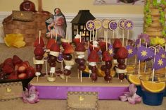 """Photo 1 of 44: Rapunzel Disney's Tangled Inspired / Birthday """"Tangled Up In Fun!"""" 