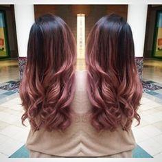 Stunning Rose Gold Hair Ideas!!! #haircarejobs,
