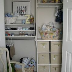 Nursery closet!