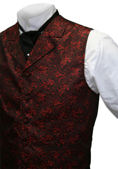Drake Vest - Red