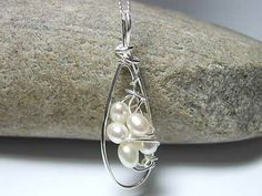 handcrafted pearl silver jewelry https://www.silverwiredesigns.com