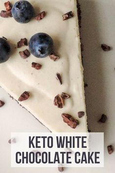 Keto white chocolate cake | My Sweet Keto #keto #ketogenic #lowcarb #recipe #ketorecipe #ketodessert
