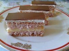 Tiež je od babičky, len som to… Czech Recipes, Ethnic Recipes, Cotton Cake, Different Cakes, Hungarian Recipes, Gluten Free Baking, Vanilla Cake, Nutella, Delish