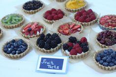 blue bird fruit tarts