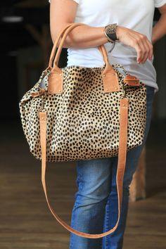 Commuter Tote - Cheetah  #nashville #nashvillefashion #nfa #nashvillefashionalliance