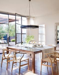 Wonderful Country House in Spain, design, décor, interior, Spain, house, country, cozy, dining rооm