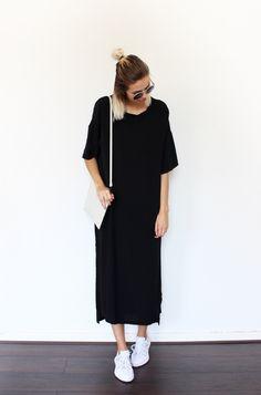 THE HUGE BLACK DRESS