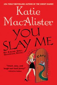Ashling Grey Series Katie MacAlister. Hilarious and witty!! This whole series is wonderful, especially the audio versions!!