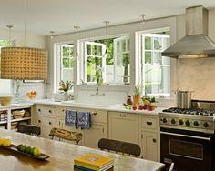 Kitchen Casement Window Design, Pictures, Remodel, Decor and Ideas