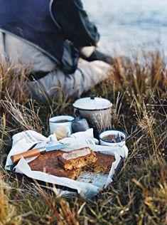 """Hummingbird Slice"" I think we'd call it Morning Glory Bread. (Carrots, pineapple, banana and coconut.)"