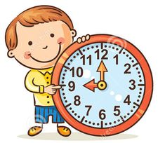 Telling The Time in English - English Study Page Preschool Learning Activities, Home Learning, Teaching Kindergarten, English Study, English English, Math Clipart, Frame Border Design, English Teaching Materials, School Frame