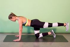 Celebrity Trainer Lacey Stone's 5-Move Bodyweight Butt Workout