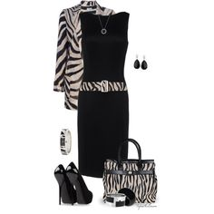 Dress Up With Zebra Print by tufootballmom on Polyvore featuring Christian Dior, MANTU, Giuseppe Zanotti, By Malene Birger, Kate Spade, Vince Camuto, Sonia Rykiel, Reeds Jewelers, women's clothing and women's fashion