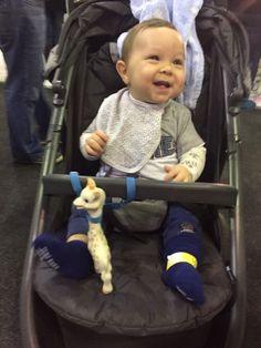 ToyToggle keeps baby smiling and Sophie safe!!