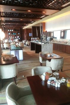 Executive lounge at the airport Hilton in Beijing #stayhilton