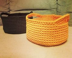 "Ravelry: Universal Basket ""Must have"" pattern by Simona Kastanauskiene"