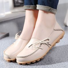 16 Colors Women Flat Shoes Slip On Woman Loafers Plus Size Women's Fashion Casual Shoes Moccasins Female Footwear 2017 QT179 #CLICK! #clothing, #shoes, #jewelry, #women, #men, #hats, #watches