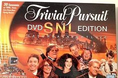 NEW Sealed TRIVIAL PURSUIT DVD SNL EDITION SATURDAY NIGHT LIVE SPECIAL EDITION…
