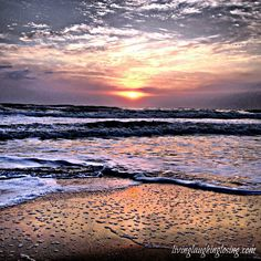 Sunrise in Ormond Beach, FL.