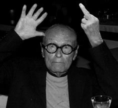 """Image 1 of 6 from gallery of Iconic Architects Photoshopped """"Giving the Finger"""" in Support of Frank Gehry. Image Courtesy of Supporting Frank Owen Gehry Architecture Program, Urban Architecture, Architecture Student, Modern Architects, Famous Architects, Ricardo Bofill, John Lautner, Philip Johnson, Paisajes"""