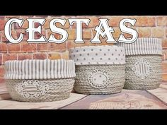 HAZ TUS PROPIAS CESTAS RECICLANDO BOTELLAS DE PLÁSTICO - YouTube Sisal, Make Your Own, Make It Yourself, How To Make, World Crafts, Recycle Plastic Bottles, Crochet Home, Handicraft, Decoupage
