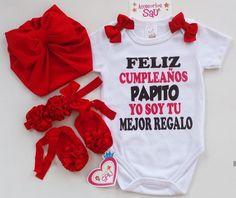 Daddy Birthday, Robin, Onesies, Baby Shower, Kids, Clothes, Fashion, Flower, Frases