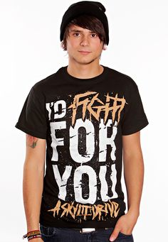A Skylit Drive t-shirt.