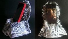 Game of Thrones + Dock iPhone = Iron Throne