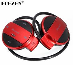 Buy online US $10.99  FREZEN Mini 501 Wireless Bluetooth headset Sport Bluetooth Headphones Music Stereo Earphones+TF Card Slot+FM Radio For phone pad  Search here: Laptop